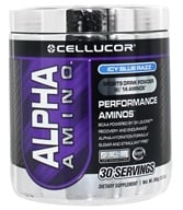 Image of Cellucor - Alpha Amino Performance Aminos Icy Blue Razz 30 Servings - 366 Grams