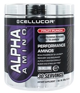 Cellucor - Alpha Amino Performance Aminos Fruit Punch 30 Servings - 366 Grams (810390021413)