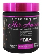 NLA for Her - Her Aminos Comprehensive Amino Acid Blend Pink Lemonade 5875 mg. - 240 Grams by NLA for Her