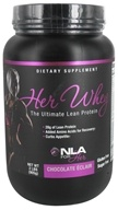 NLA for Her - Her Whey Ultimate Lean Protein Chocolate Eclair - 2 lbs. by NLA for Her