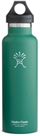 Hydro Flask - Stainless Steel Water Bottle Vacuum Insulated Standard Mouth Green Zen - 21 oz.