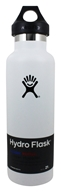 Hydro Flask - Stainless Steel Water Bottle Vacuum Insulated Standard Mouth White - 21 oz.