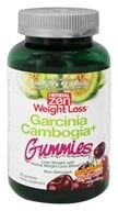 Herbal Zen Weight Loss - Garcinia Cambogia+ Gummies Non-Stimulant Cherry Blast - 60 Gummies