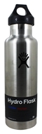 Hydro Flask - Stainless Steel Water Bottle Vacuum Insulated Standard Mouth Classic Stainless - 21 oz.