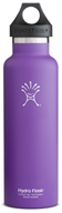 Hydro Flask - Stainless Steel Water Bottle Vacuum Insulated Standard Mouth Acai Purple - 21 oz.
