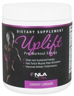NLA for Her - Uplift Pre-Workout Energy Cherry Limeade - 210 Grams (700220998483)
