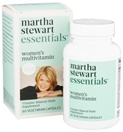 Martha Stewart Essentials - Women's Multivitamin - 60 Vegetarian Capsules by Martha Stewart Essentials
