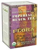 Flora - Certified Organic Imperial Black Tea - 16 Tea Bags, from category: Teas