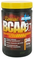 Mutant - BCAA Powder 9.7 Protein Synthesis Initiator Blue Raspberry - 348 Grams