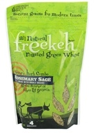 Freekeh Foods - Roasted Green Wheat Ancient Grains Rosemary Sage - 8 oz. by Freekeh Foods