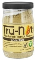 Tru-Nut - Powdered Peanut Butter Chocolate - 6.7 oz., from category: Health Foods