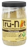 Tru-Nut - Powdered Peanut Butter Chocolate - 6.7 oz. by Tru-Nut