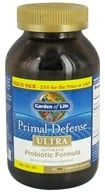 Garden of Life - Primal Defense Ultra Ultimate Probiotic Formula Value Pack - 216 Vegetarian Capsules, from category: Nutritional Supplements