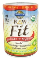 Garden of Life - Raw Fit High Protein for Weight Loss Marley Coffee - 16 oz. by Garden of Life