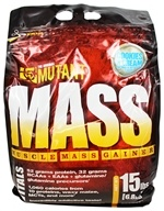 Mutant - Mass Muscle Mass Gainer Cookies & Cream - 15 lbs.