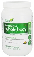 Genuine Health - Fermented Whole Body Nutrition Acai Mango - 18.5 oz. by Genuine Health