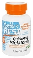 Doctor's Best - QuickMelt Melatonin 2.5 mg. - 60 Tablets