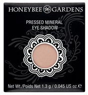 Honeybee Gardens - Pressed Mineral Eye Shadow Singles Cameo - 1.3 Grams