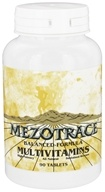 Image of Mezotrace - Balanced Formula Multivitamins - 90 Tablets