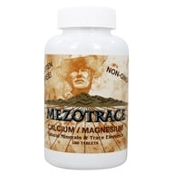 Mezotrace - Calcium/Magnesium Multi Mineral Supplement - 180 Tablets - $14.20