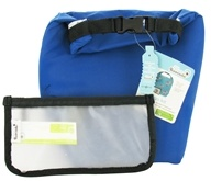Blue Avocado - Clik 'N Go Kit Reusable Insulated Roll Top Bag + Reusable Storage Bag Cobalt Blue