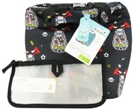 Blue Avocado - Clik 'N Go Kit Reusable Insulated Roll Top Bag + Reusable Storage Bag Boys Skulls