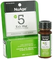 NuAge - #5 Kali Mur Potassium Chloride Homeopathic Tissue Remedy - 125 Tablets (354973522480)