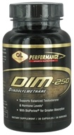 Olympian Labs - Performance DIM Diindolylmethane 250 mg. - 30 Vegetarian Capsules, from category: Nutritional Supplements