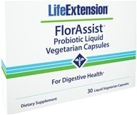 Life Extension - FlorAssist Probiotic For Digestive Health - 30 Liquid Vegetarian Capsules by Life Extension