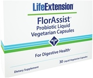 Life Extension - FlorAssist Probiotic For Digestive Health - 30 Liquid Vegetarian Capsules (737870180630)