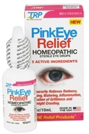 Image of TRP Company - PinkEye Relief Sterile Eye Drops - 0.33 oz.