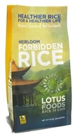 Lotus Foods - Heirloom Forbidden Black Rice - 15 oz., from category: Health Foods