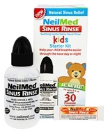 NeilMed Pharmaceuticals - Sinus Rinse Kids All Natural Starter Kit - 30 Premixed Packets