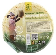 Lotus Foods - Organic Brown Jasmine Rice Heat & Eat Bowl - 7.4 oz. (708953504988)