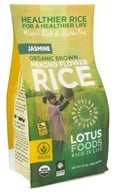 Lotus Foods - Organic Brown Mekong Flower Rice - 15 oz., from category: Health Foods