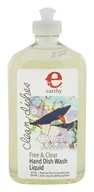 Earthy - Clean Dishes Natural Hand Dish Wash Liquid Free & Clear - 17 oz. by Earthy