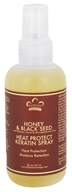 Nubian Heritage - Keratin Spray Heat Protect Honey & Black Seed - 5 oz. (764302119210)