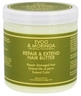 Nubian Heritage - Hair Butter Repair & Extend EVOO & Moringa - 6 oz. (764302118220)