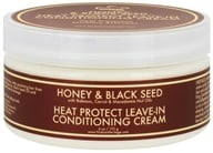 Nubian Heritage - Leave-In Conditioning Cream Heat Protect Honey & Black Seed - 6 oz. - $8.99