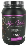 NLA for Her - Her Whey Ultimate Lean Protein Vanilla Cupcake - 2 lbs. by NLA for Her