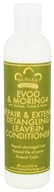 Nubian Heritage - Detangling Leave-In Conditioner Repair & Extend EVOO & Moringa - 8 oz. by Nubian Heritage