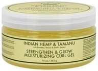 Nubian Heritage - Moisturizing Curl Gel Strengthen & Grow Indian Hemp & Tamanu - 10 oz., from category: Personal Care