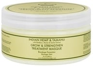 Image of Nubian Heritage - Hair Treatment Masque Grow & Strengthen Indian Hemp & Tamanu - 10 oz.