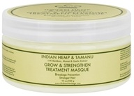 Nubian Heritage - Hair Treatment Masque Grow & Strengthen Indian Hemp & Tamanu - 10 oz. by Nubian Heritage