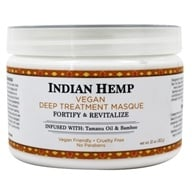 Nubian Heritage - Hair Treatment Masque Grow & Strengthen Indian Hemp & Tamanu - 12 oz. (764302111344)