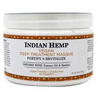 Nubian Heritage - Deep Treatment Hair Masque Indian Hemp & Tamanu - 12 oz.