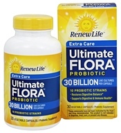 Renew Life - Ultimate Flora Extra Care Probiotic 30 Billion - 30 Capsules