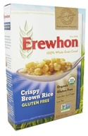 Image of Erewhon - Organic Whole Grain Cereal Crispy Brown Rice - 10 oz.