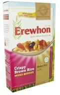 Erewhon - Organic Whole Grain Cereal Crispy Brown Rice Mixed Berries - 9.5 oz. (041653012101)