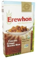 Erewhon - Organic Whole Grain Cereal Crispy Brown Rice Cocoa - 10.5 oz. (041653012071)
